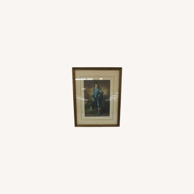 """Blue Boy"" by Gainsborough Org Litho - image-0"