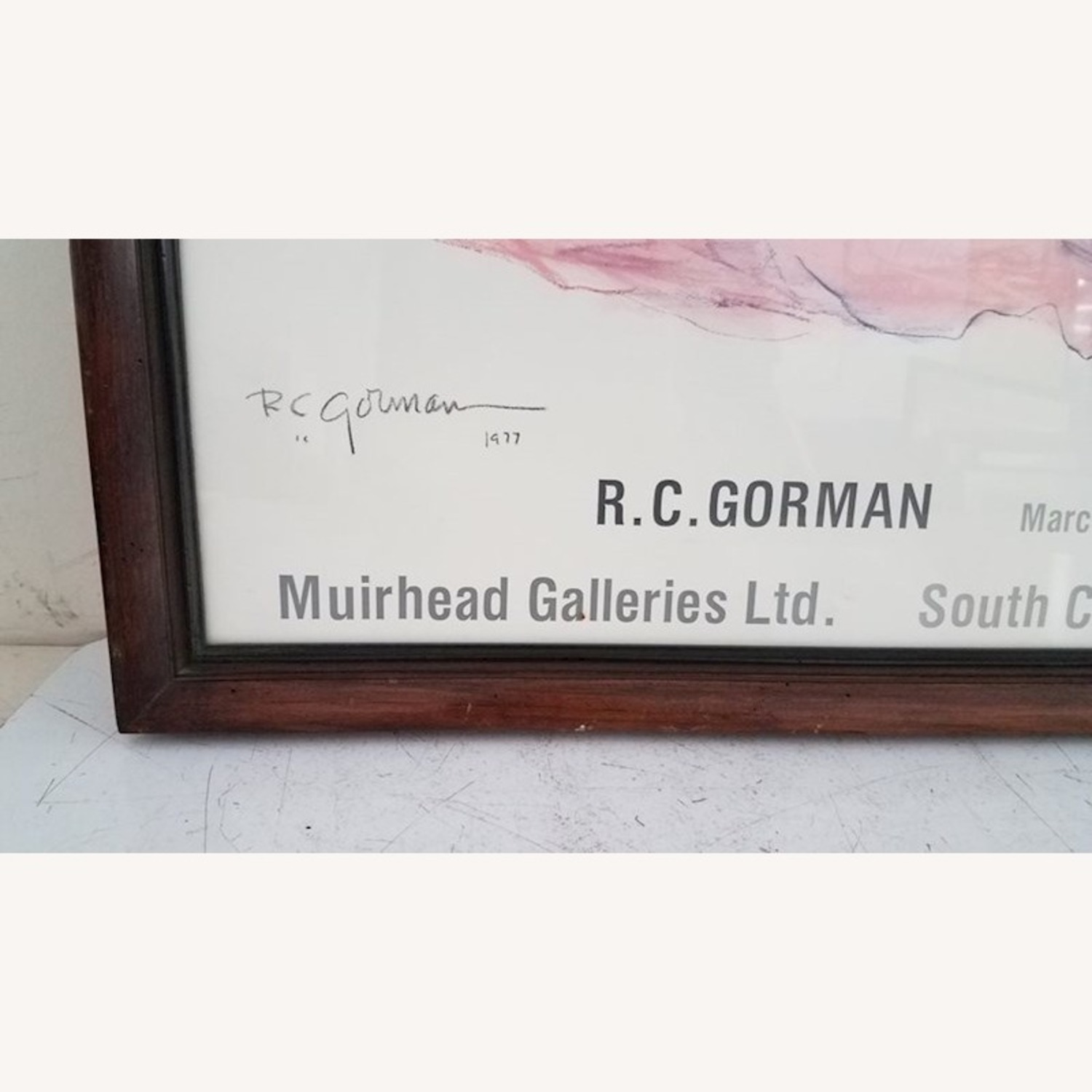 RC Gorman Signed 1978 Lithograph - image-3