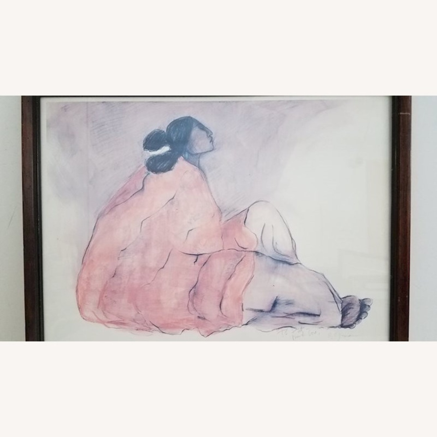 RC Gorman Signed 1978 Lithograph - image-4