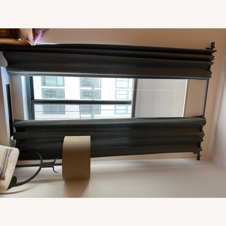 West Elm Grommet Velvet Curtains - image-4