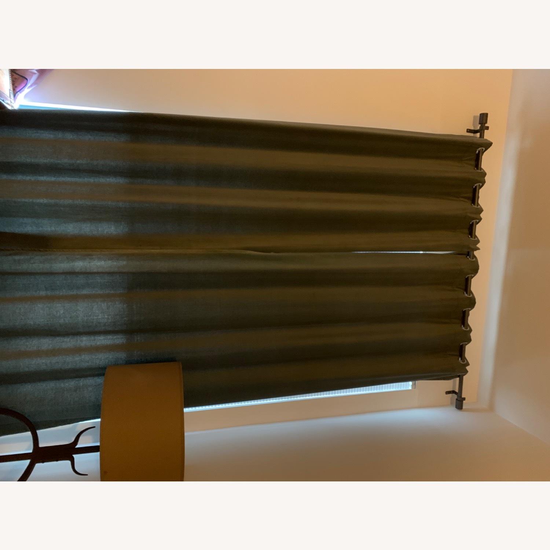 West Elm Grommet Velvet Curtains - image-5