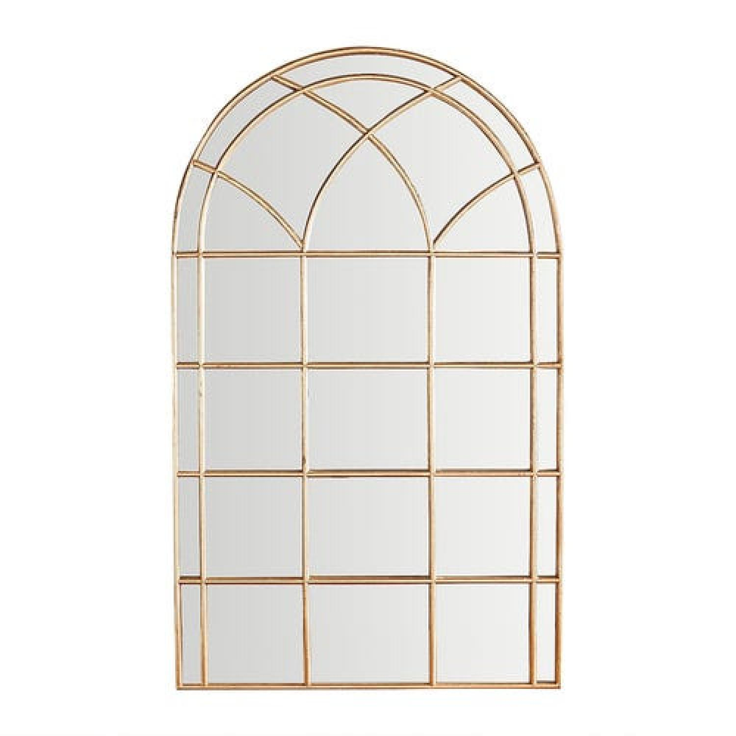 Pier 1 Imports Gold Arch Mirrors - image-4