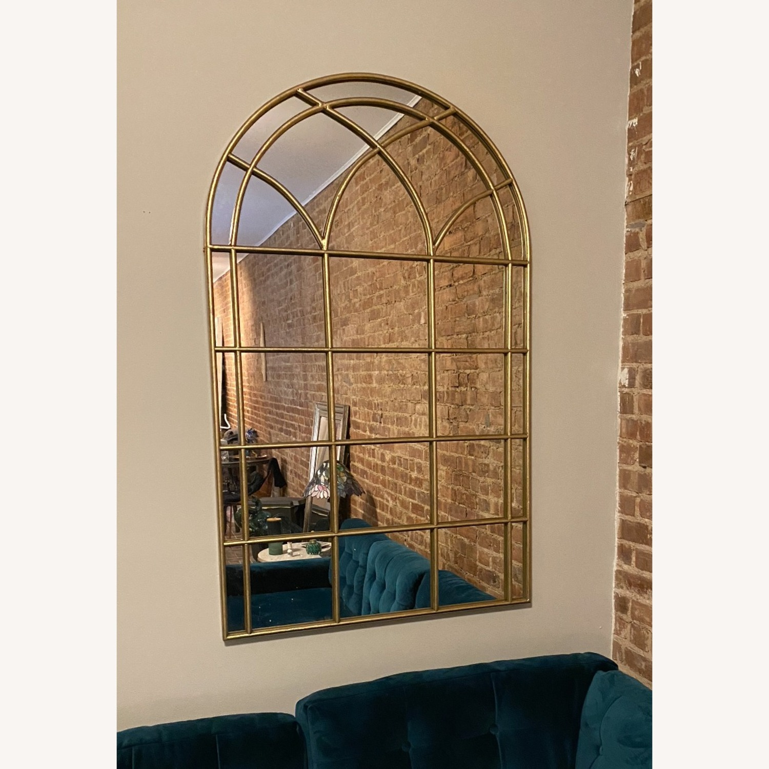 Pier 1 Imports Gold Arch Mirrors - image-3