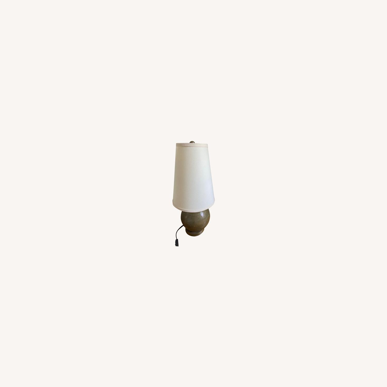Crate & Barrel Lamp Set - image-0