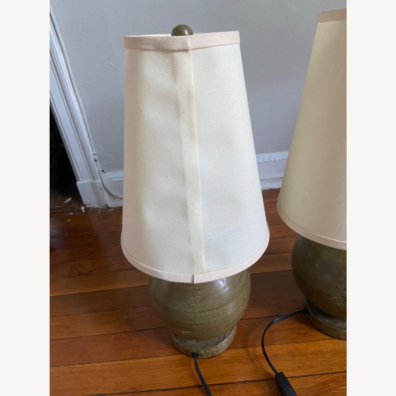 Crate & Barrel Lamp Set - image-4