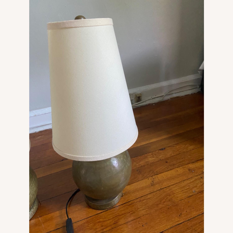 Crate & Barrel Lamp Set - image-3