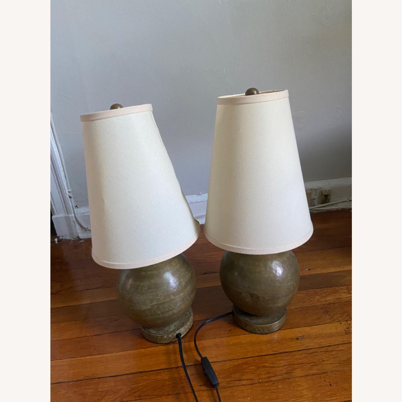 Crate & Barrel Lamp Set - image-1