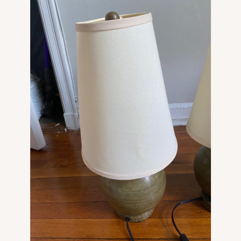 Crate & Barrel Lamp Set - image-15