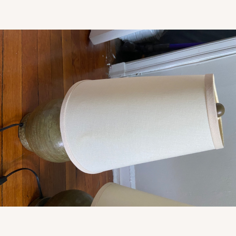 Crate & Barrel Lamp Set - image-2