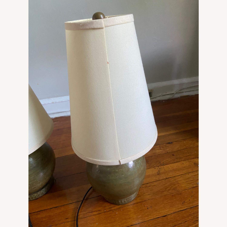 Crate & Barrel Lamp Set - image-5