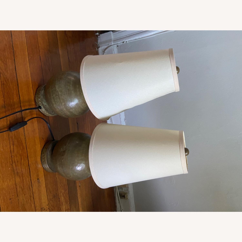 Crate & Barrel Lamp Set - image-8