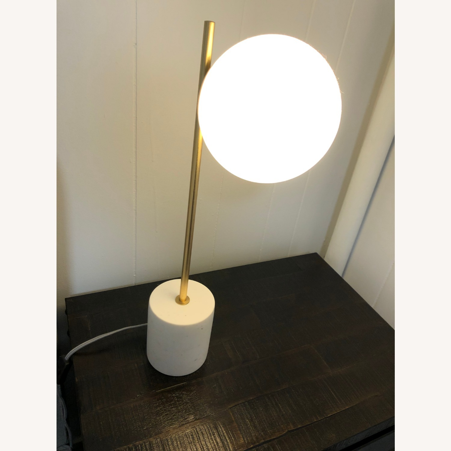 West Elm Sphere & Stem Table Lamp - image-1