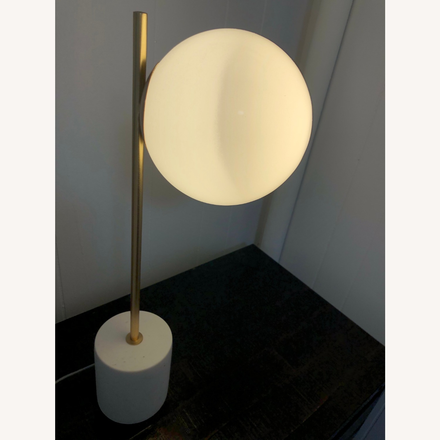 West Elm Sphere & Stem Table Lamp - image-4