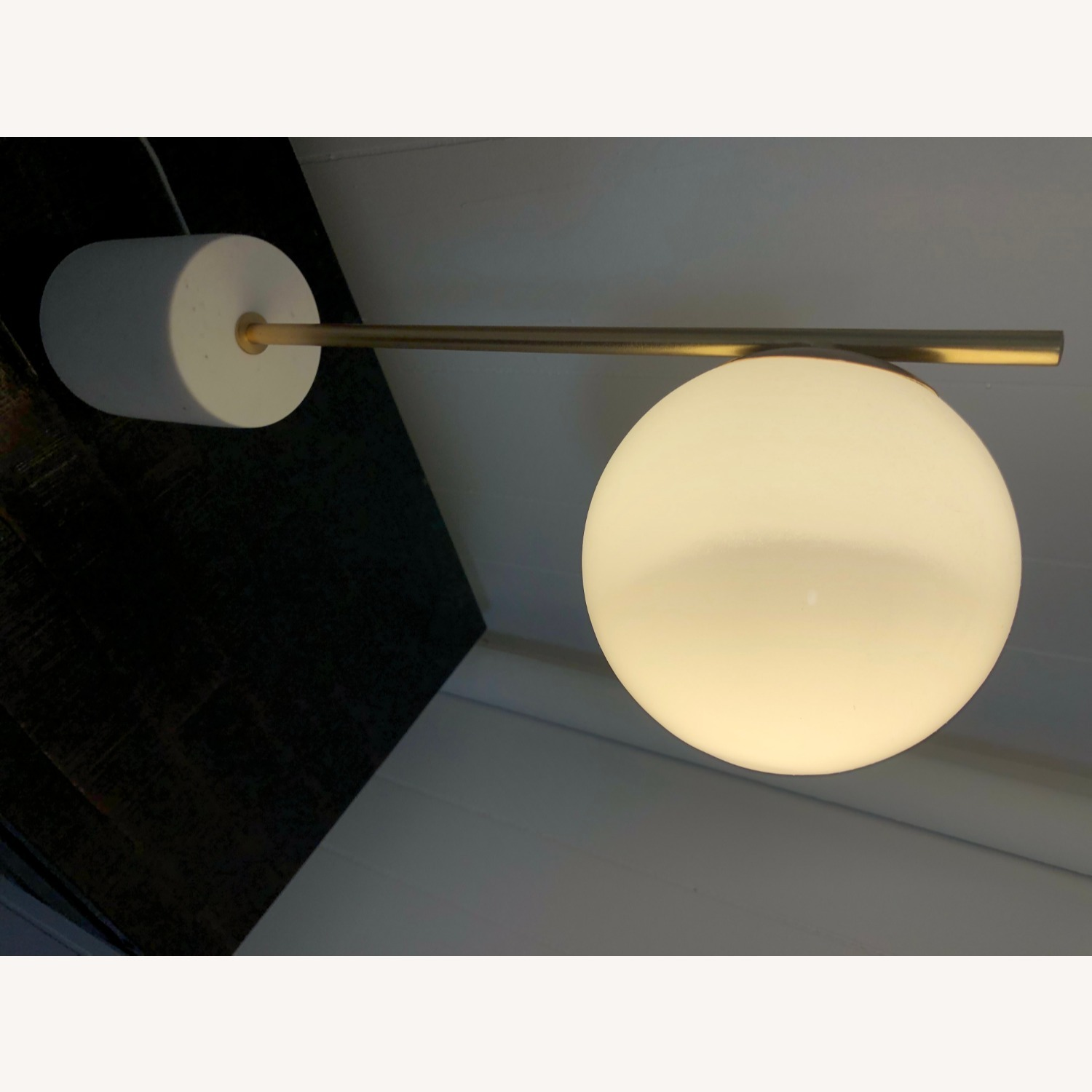 West Elm Sphere & Stem Table Lamp - image-8