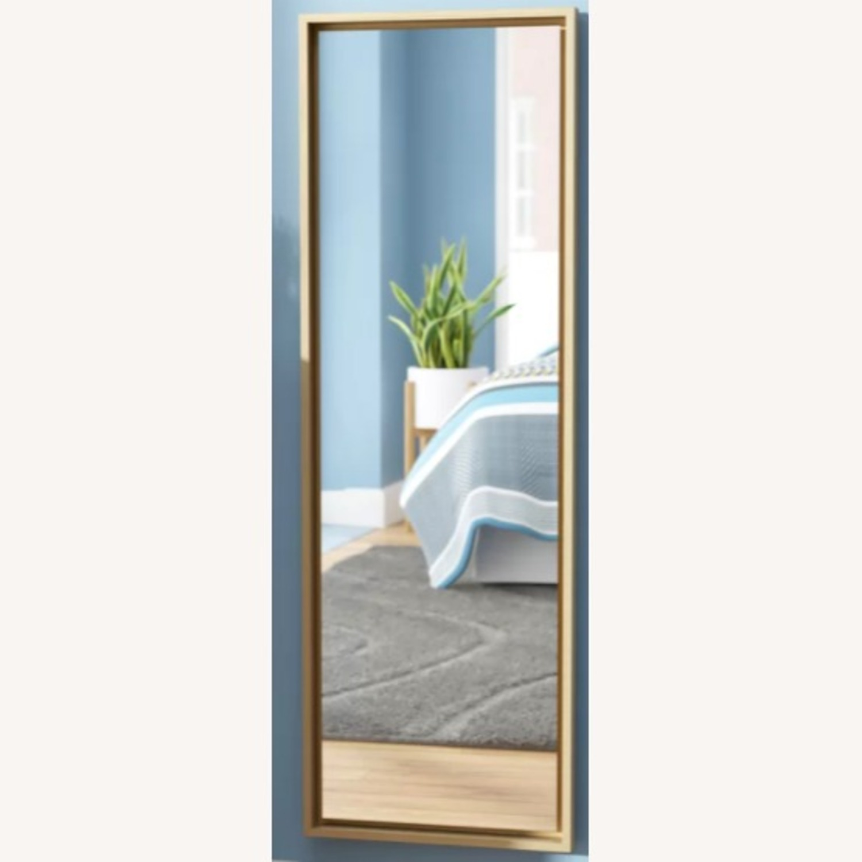 Wayfair Gold Modern & Contemporary Accent Mirror - image-3