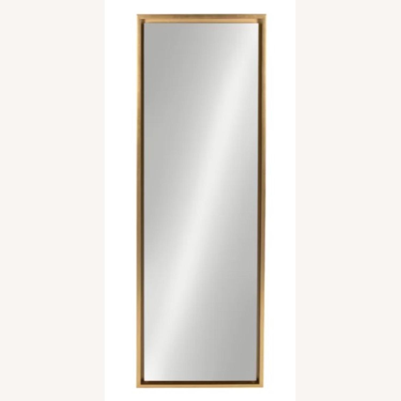 Wayfair Gold Modern & Contemporary Accent Mirror - image-1