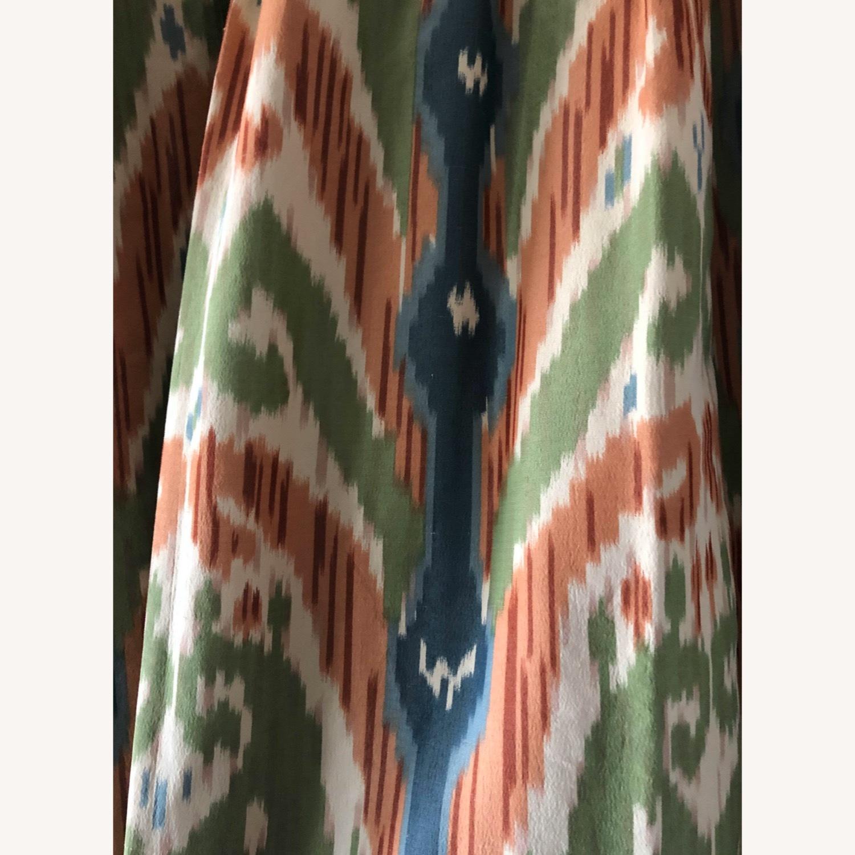 Luxury Ikat Silk Drapes - image-2