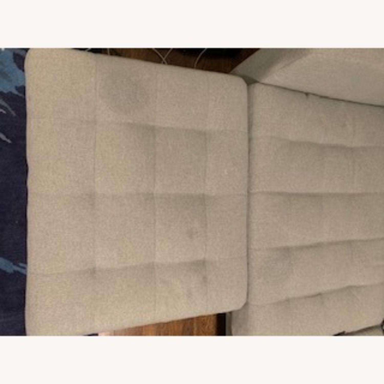 IKEA Two Seat Sofa and Ottoman - image-4