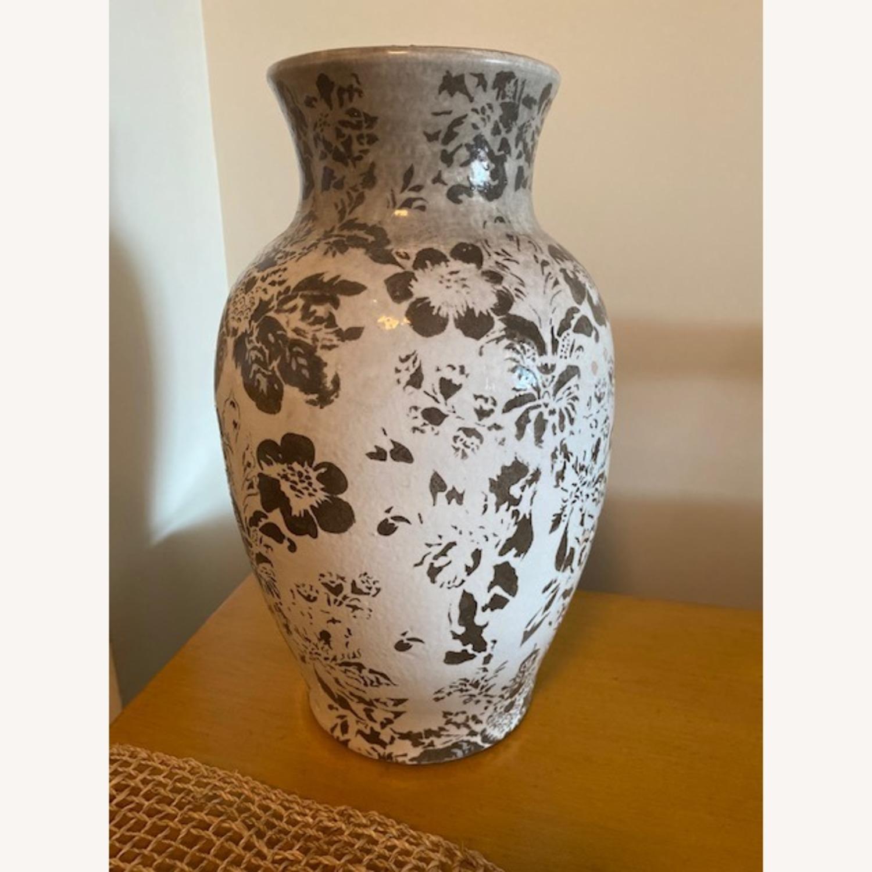Pottery Barn Handpainted Large Vase - image-5