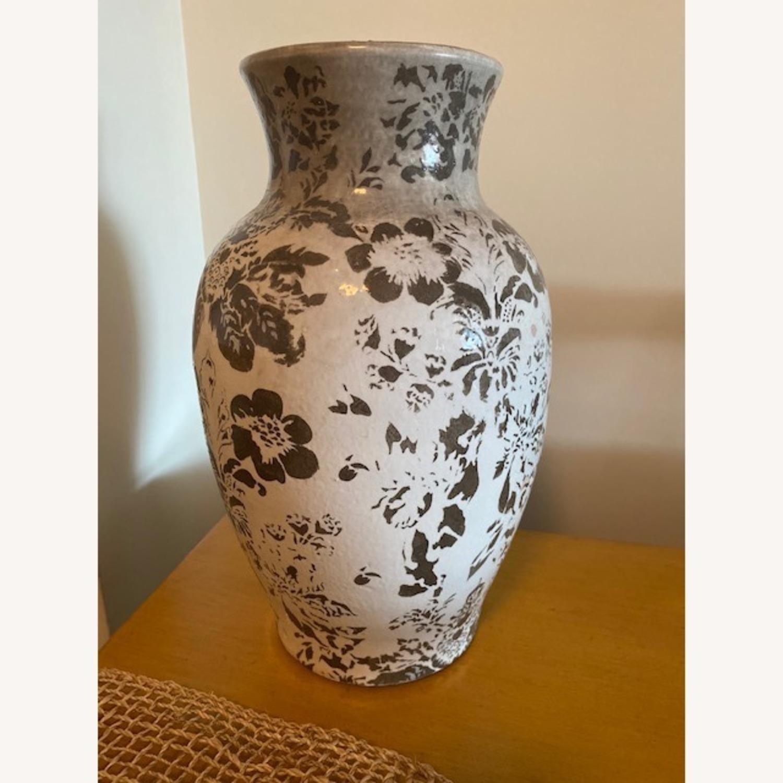 Pottery Barn Handpainted Large Vase - image-0