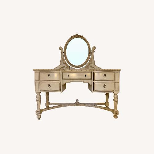 Used Kincaid Vanity with Mirror for sale on AptDeco