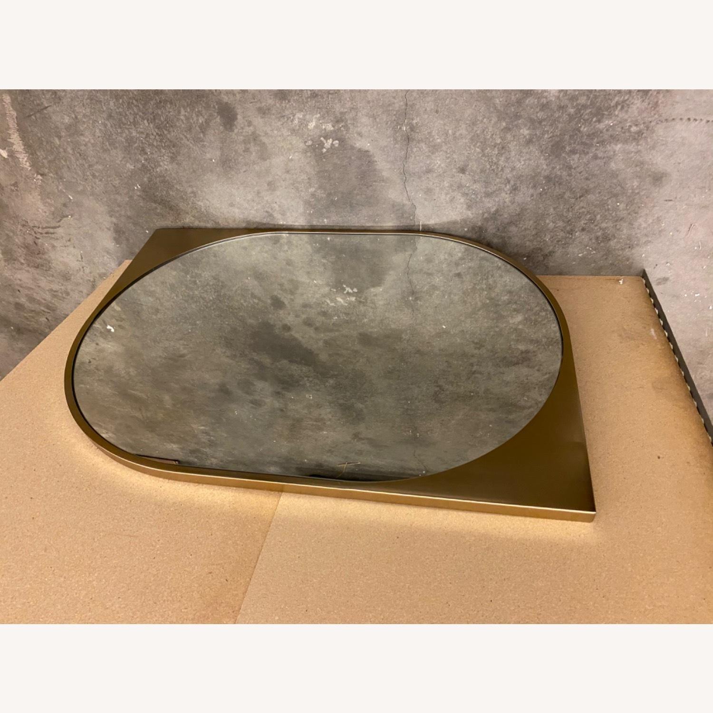 West Elm  Cateye Metal Wall Mirror - image-4