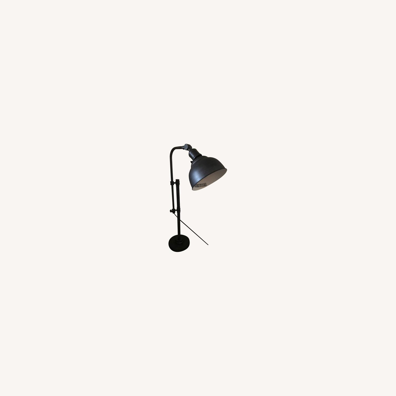 Rustic Adjustable Table Lamp - image-0