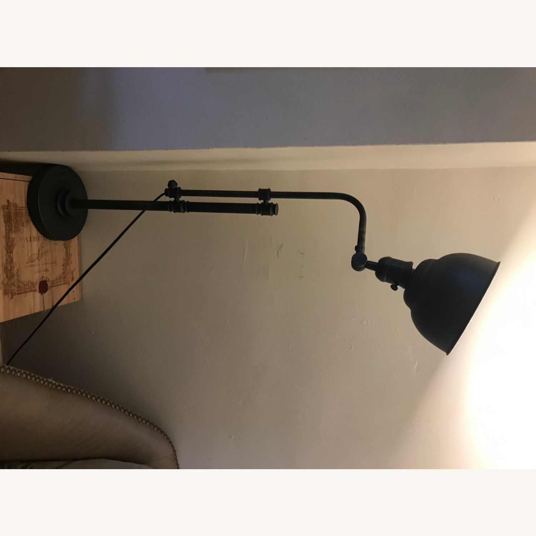 Rustic Adjustable Table Lamp - image-4