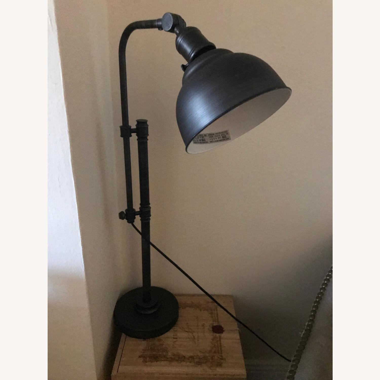 Rustic Adjustable Table Lamp - image-1