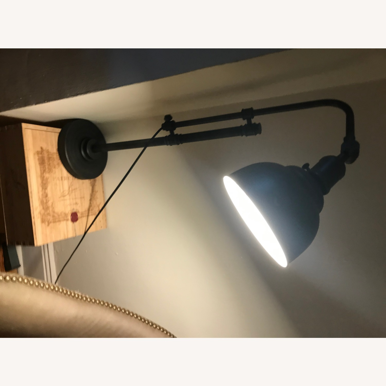 Bed Bath & Beyond Rustic Adjustable Table Lamp - image-6