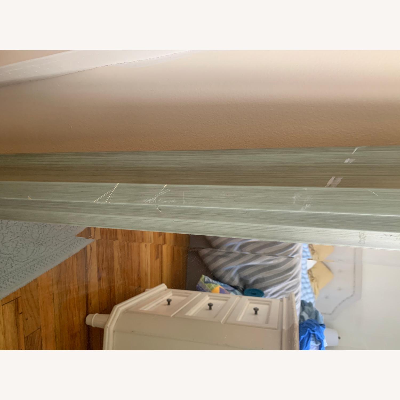 Large Green Wood Mirror - image-2