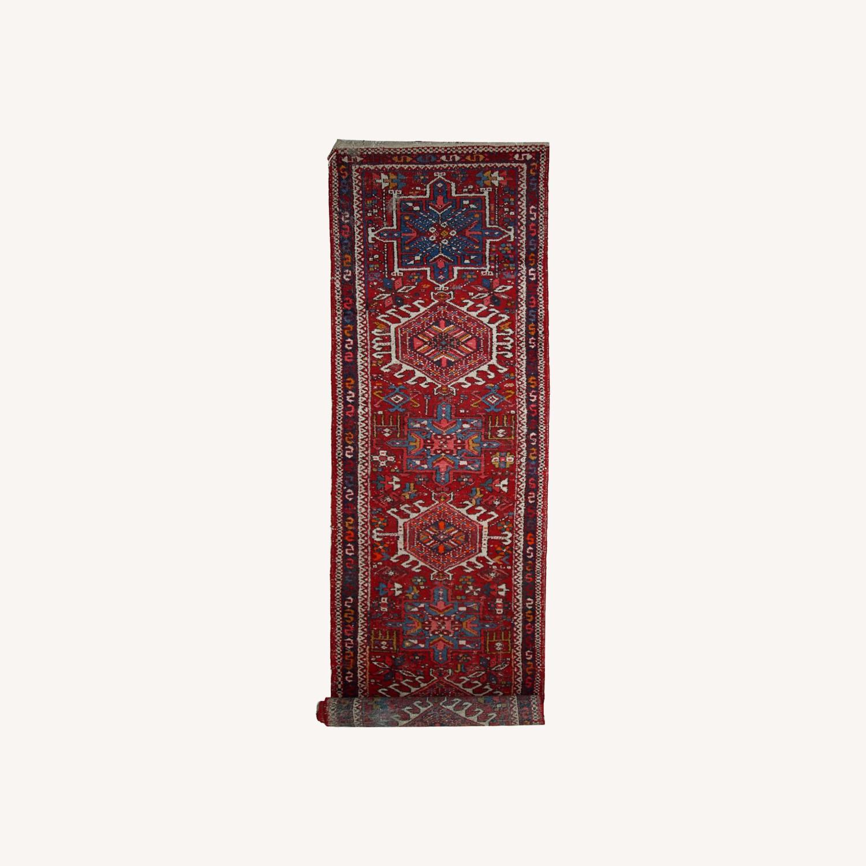 Handmade antique Persian Karajeh runner - image-0
