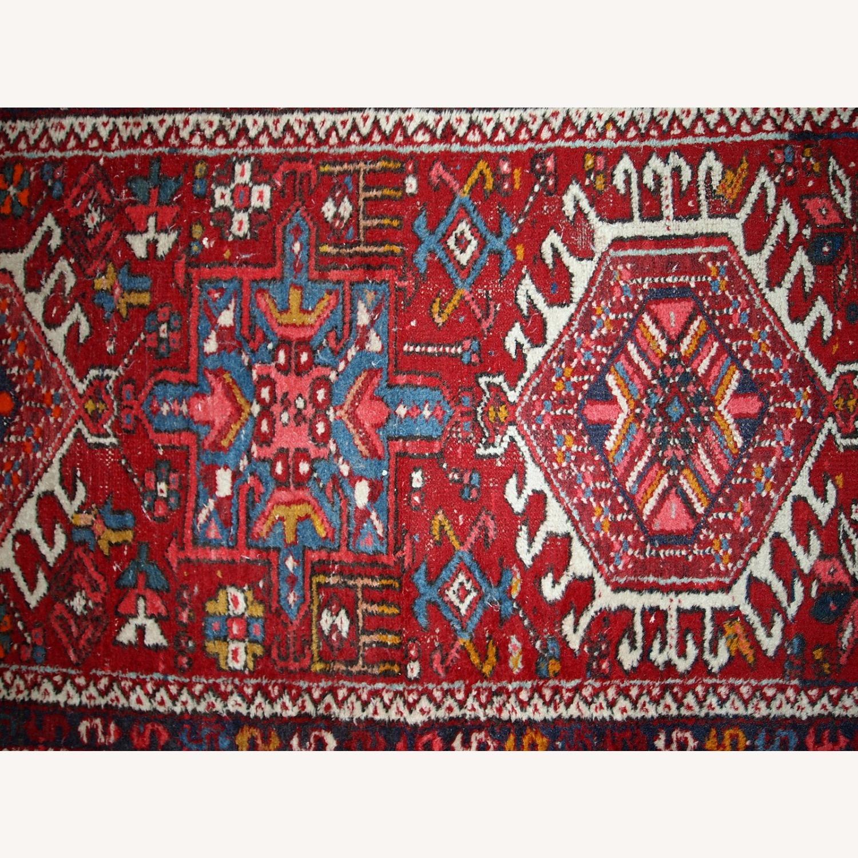 Handmade antique Persian Karajeh runner - image-9