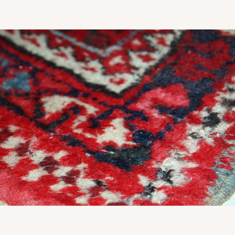 Handmade antique Persian Karajeh runner - image-6