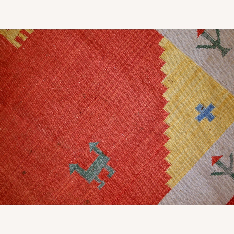 Handmade Vintage Persian Gabbeh Kilim - image-14