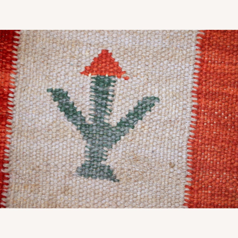 Handmade Vintage Persian Gabbeh Kilim - image-16