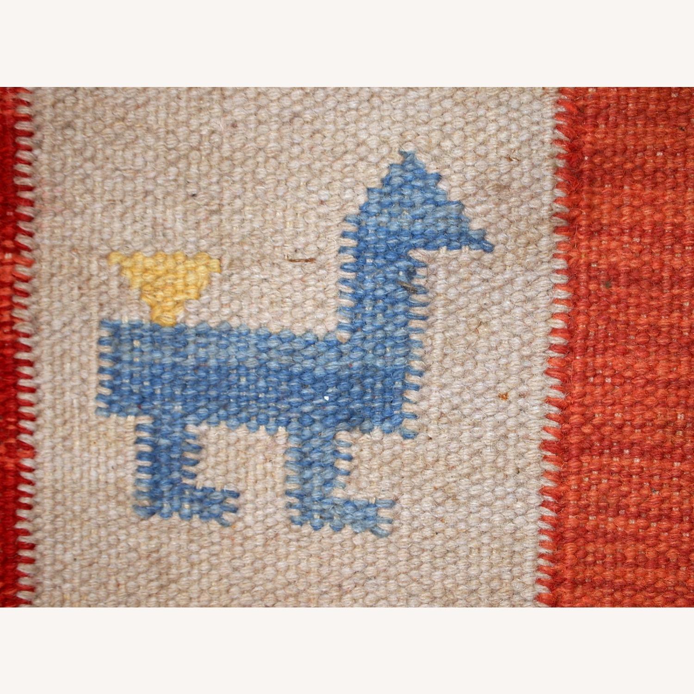 Handmade Vintage Persian Gabbeh Kilim - image-18