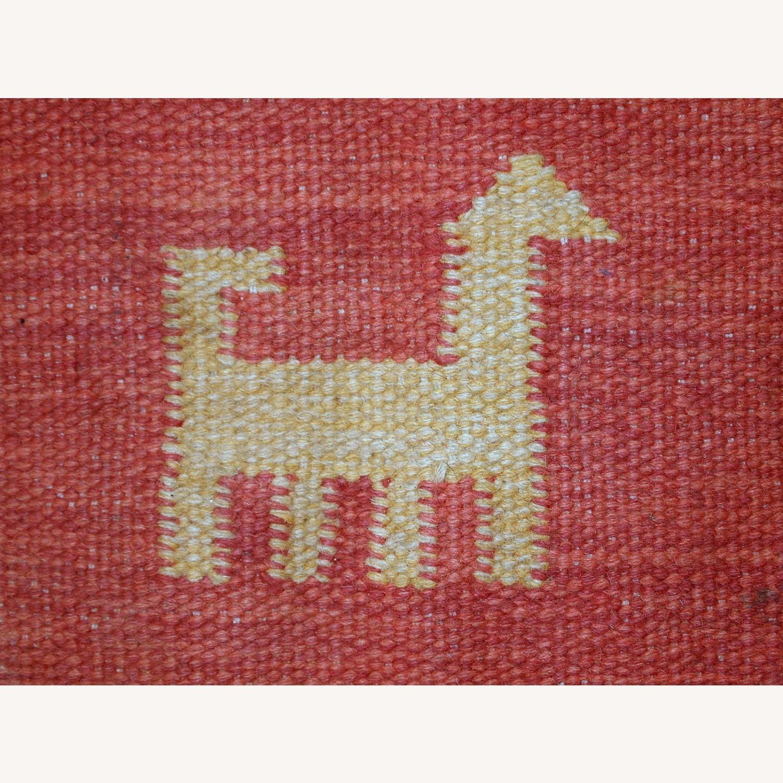 Handmade Vintage Persian Gabbeh Kilim - image-15