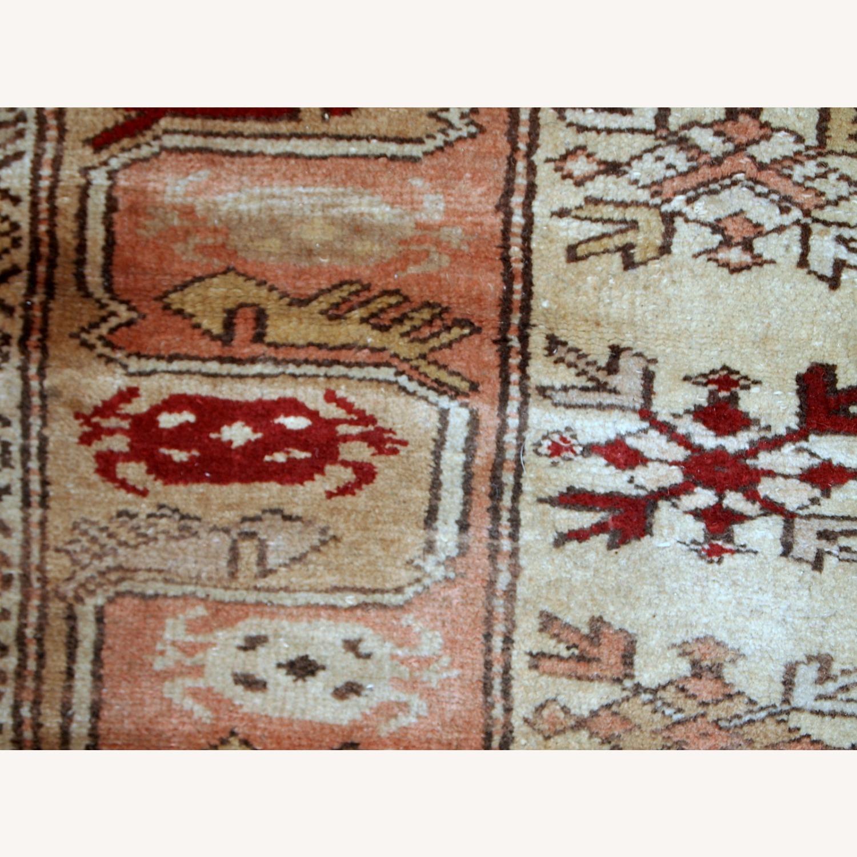 Handmade vintage Turkish Oushak runner - image-3