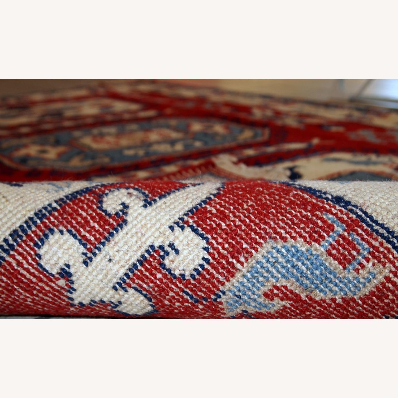Handmade vintage Caucasian Kazak rug - image-2
