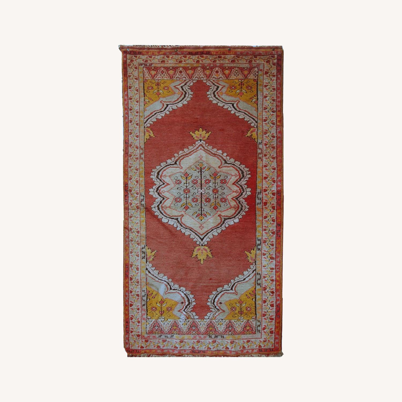 Handmade antique Turkish Anatolian rug  - image-0