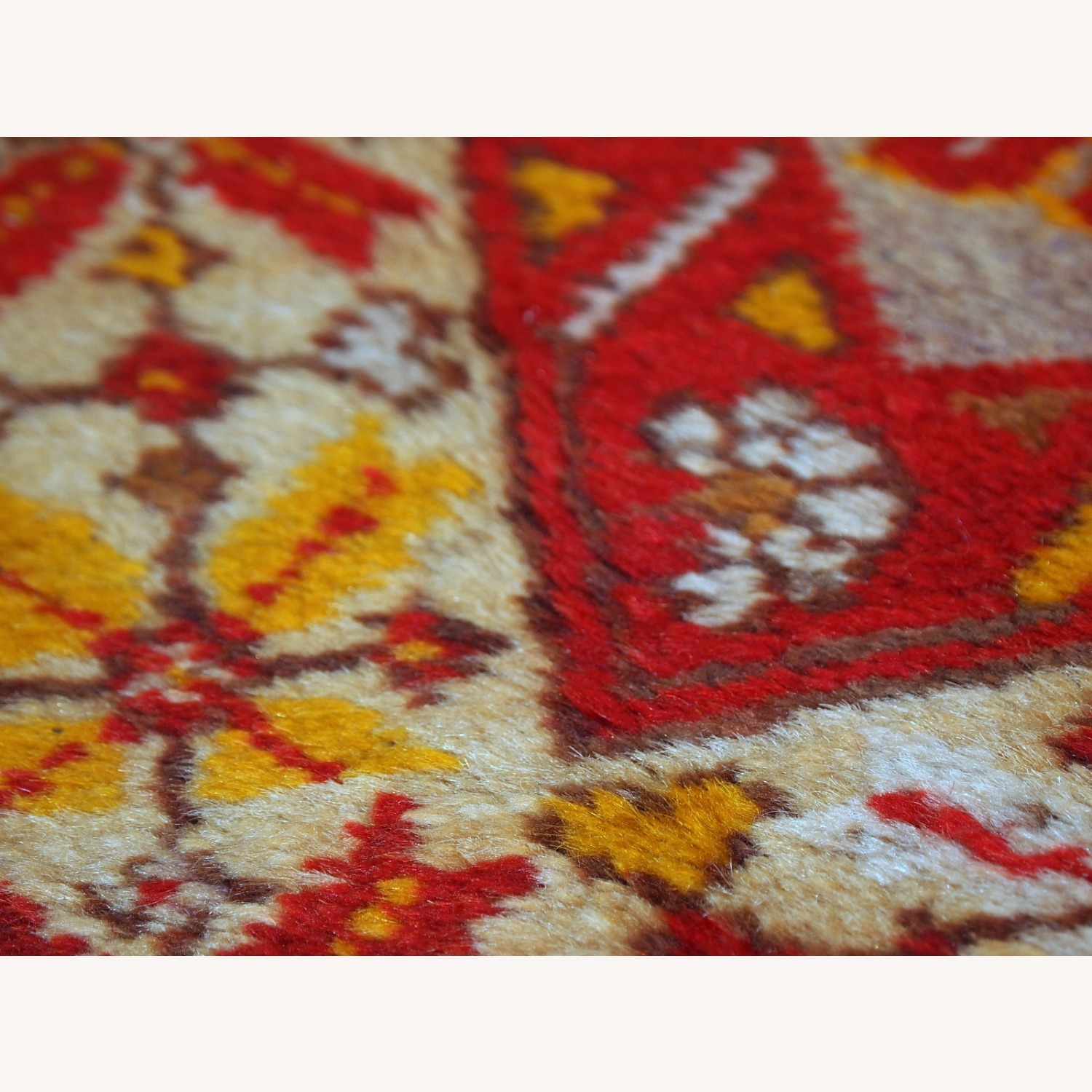 Handmade Antique Turkish Anatolian Rug - image-2