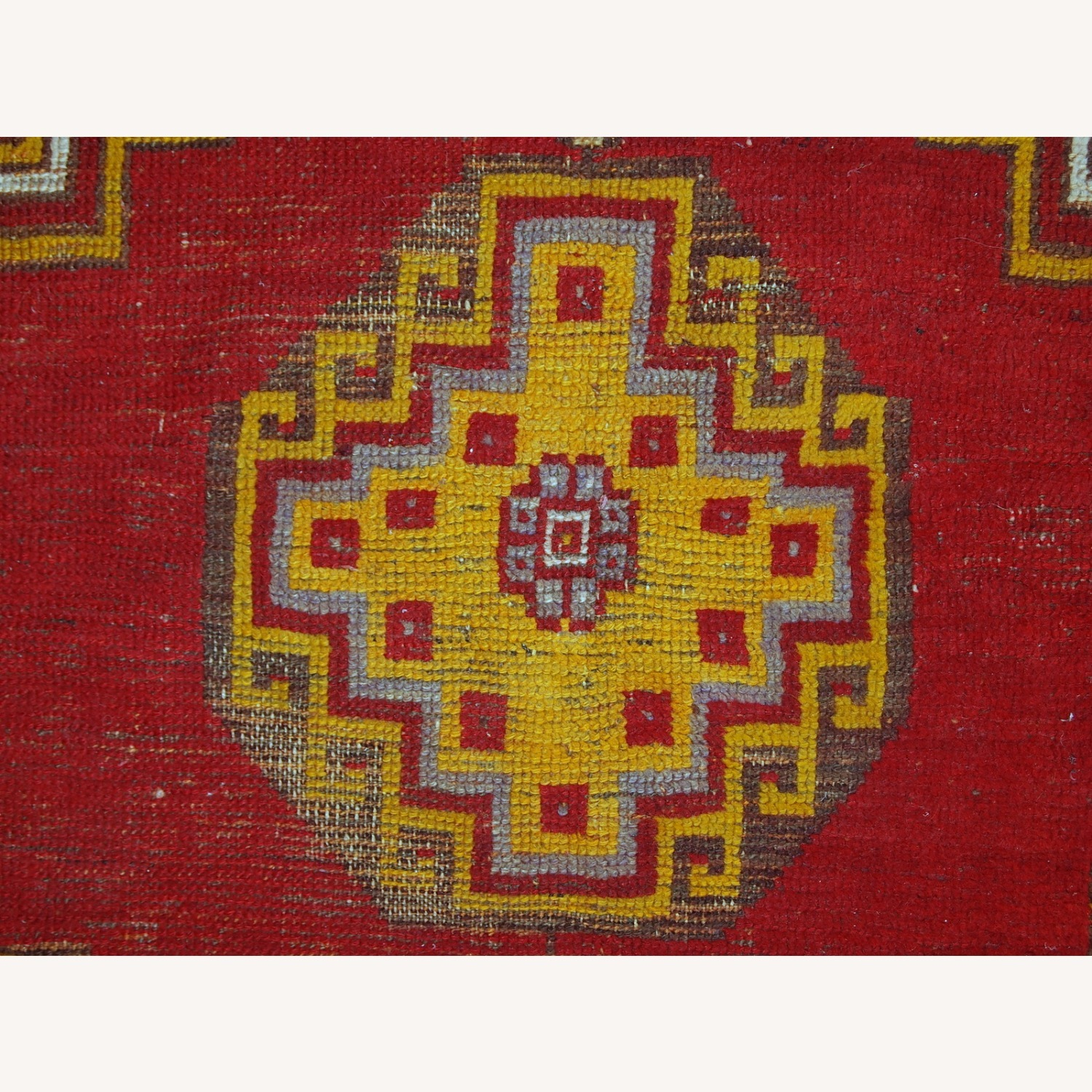 Handmade Antique Turkish Anatolian Rug - image-11