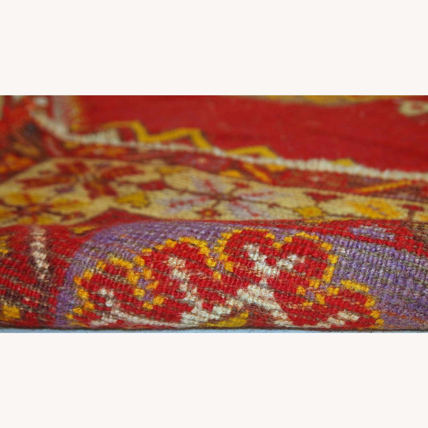 Handmade Antique Turkish Anatolian Rug - image-4