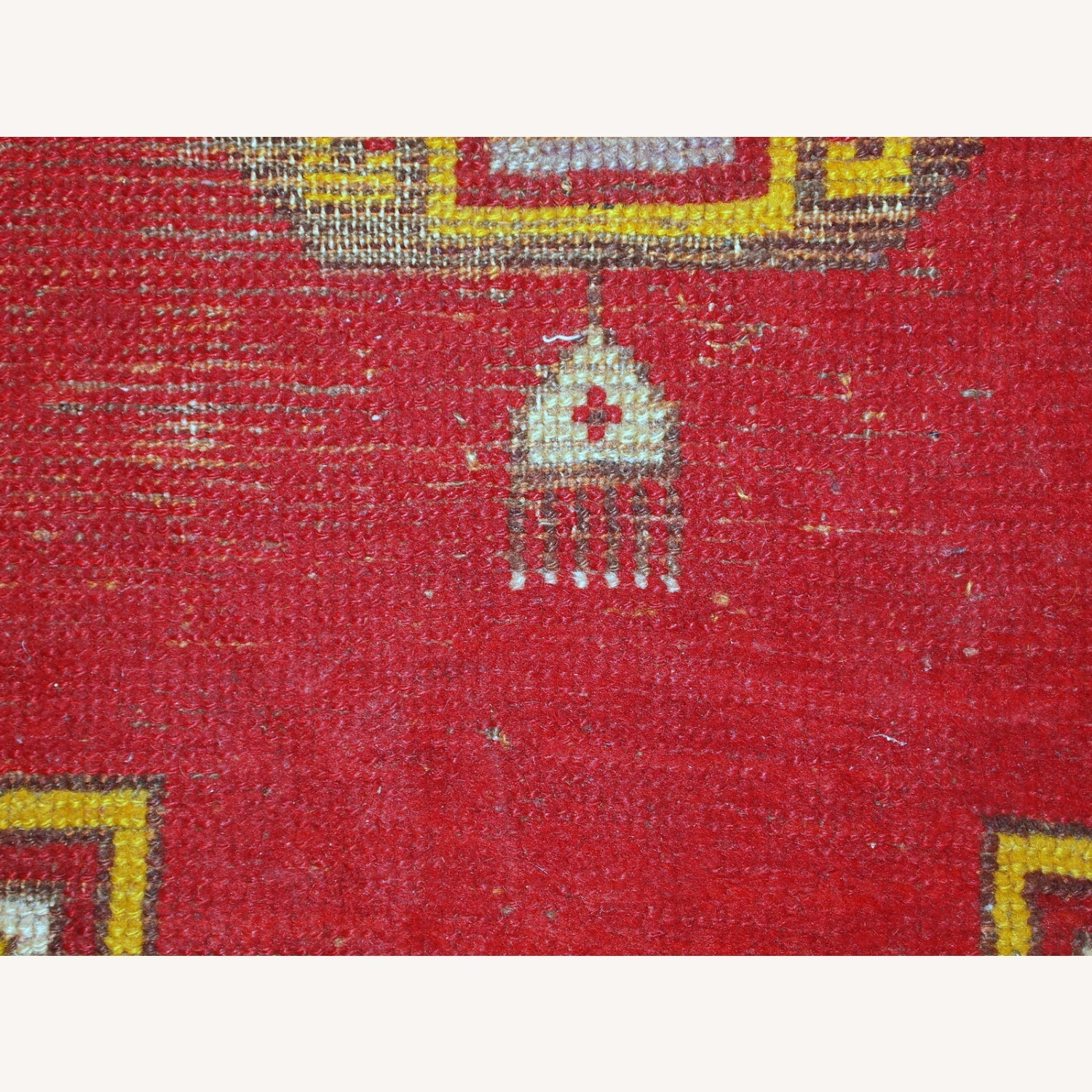 Handmade Antique Turkish Anatolian Rug - image-5