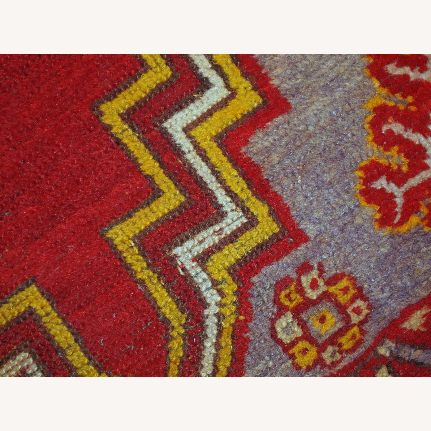 Handmade Antique Turkish Anatolian Rug - image-6