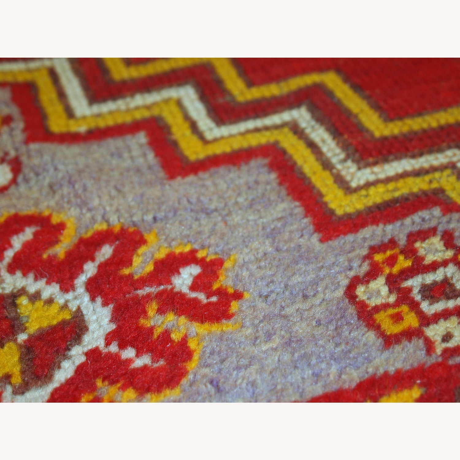 Handmade Antique Turkish Anatolian Rug - image-3