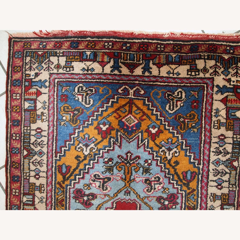 Handmade Vintage Prayer Turkish Konya Rug - image-10