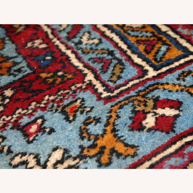 Handmade Vintage Prayer Turkish Konya Rug - image-5