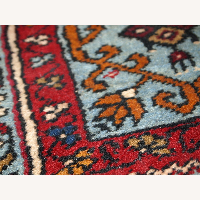 Handmade Vintage Prayer Turkish Konya Rug - image-4